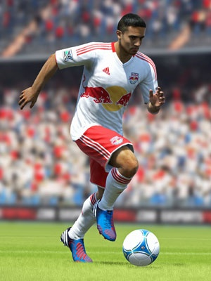 Tim Cahill of the New York Red Bulls of Major League Soccer and soccer superstar Lionel Messi of FC Barcelona of La Liga and Argentina national team fame will be sharing the cover for the upcoming FIFA 13 game.