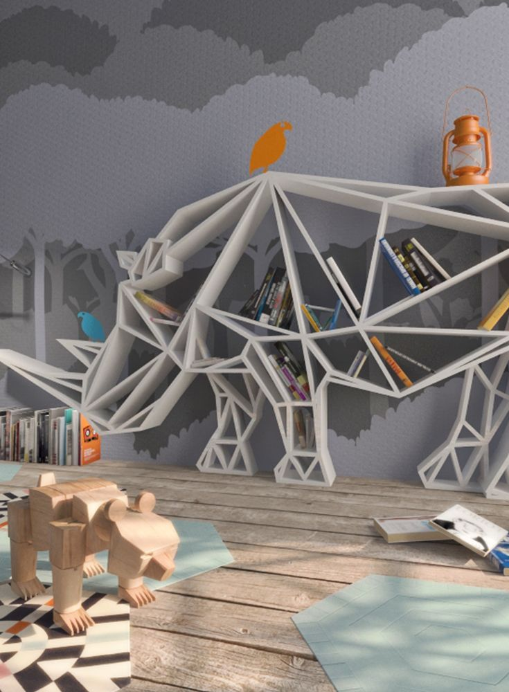 Ein Bücherregal mal anders in 2019 | Home | Kids rugs, Kids bedroom ...