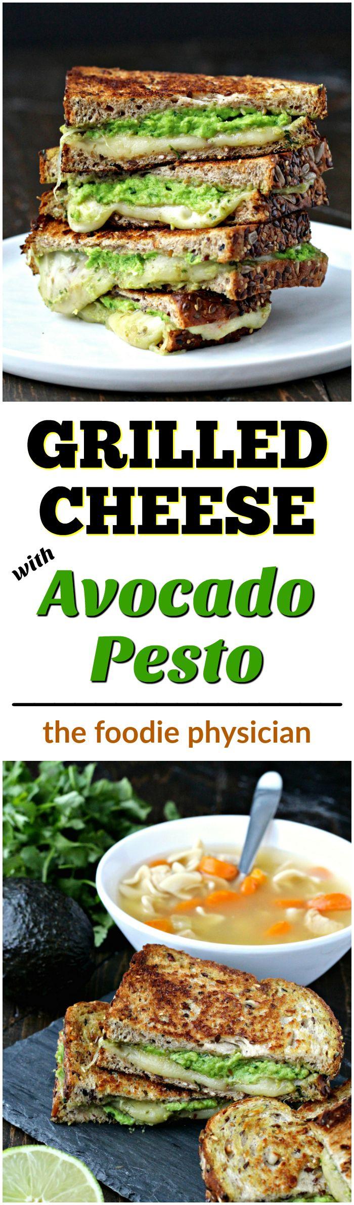 ad grilled cheese with avocado pesto @ foodiephysician avocado pesto ...