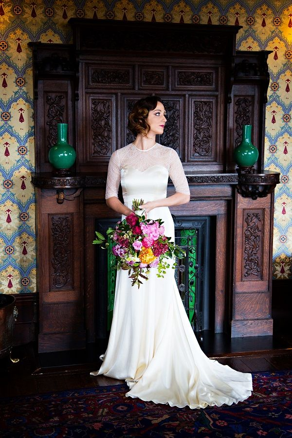 The Darcey dress from our Belle & Bunty photoshoot at Huntsham Court.  Beautiful photography by