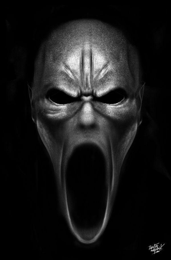 злая маска в картинках клетка защищает