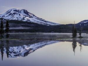 ОбоиОзеро Спаркс, Каскадные горы, округ Дешут, Орегон