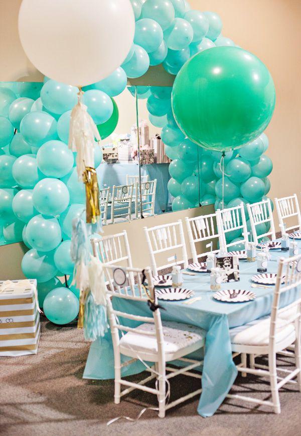 Lola Co Tiffany Themed Party