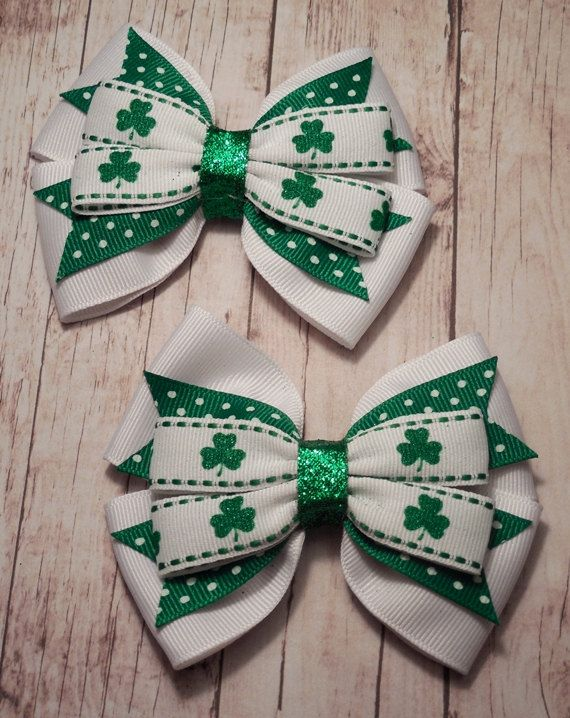 I LOVE the glitter center on these bows! $6.50