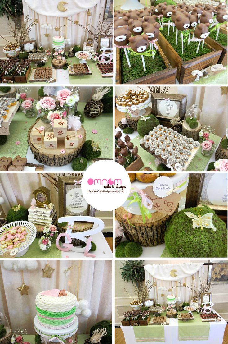 Teddy bear themed baby shower whoa theres a lot going for Baby shower function decoration