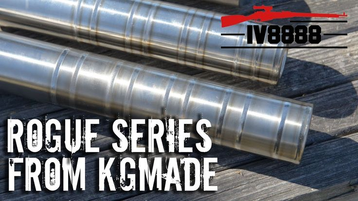 New for 2018: KGmade Rogue Series Suppressors