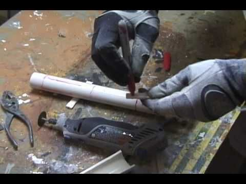 PVC lightsaber PART #1 - YouTube