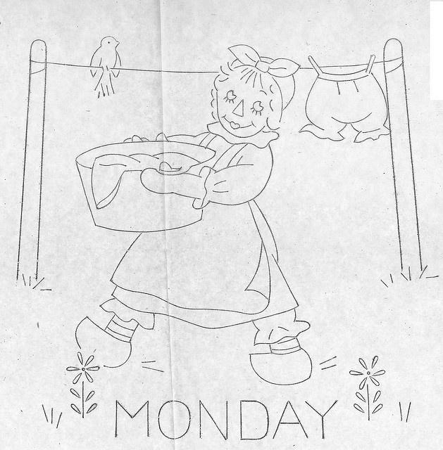 Raggedy Ann-Monday