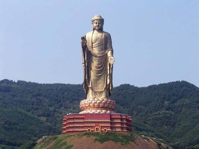 Tallest statue in the world, amazing.