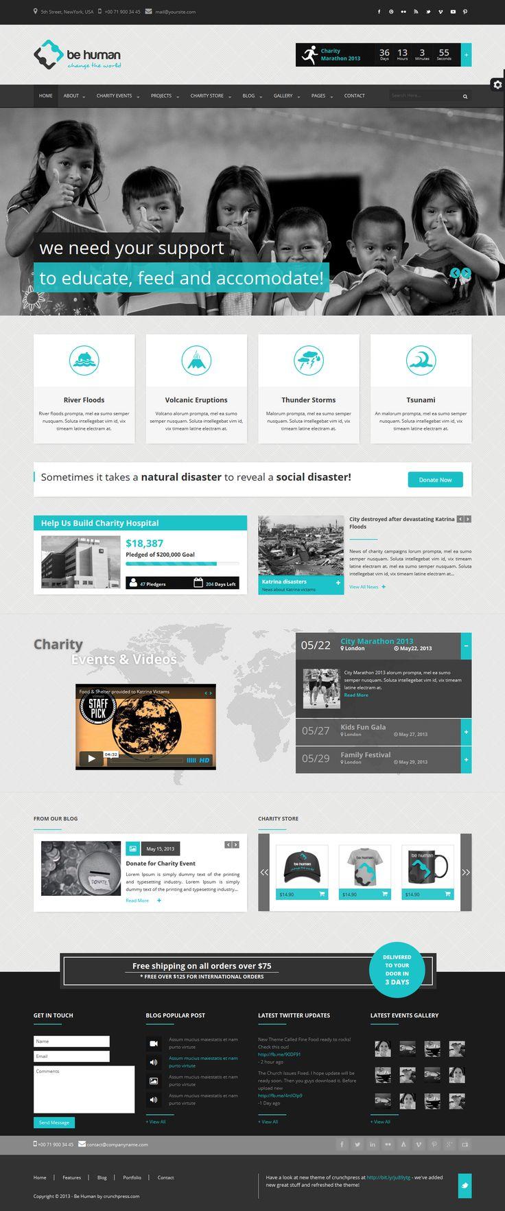 Charity WordPress Themes | Best of 2015