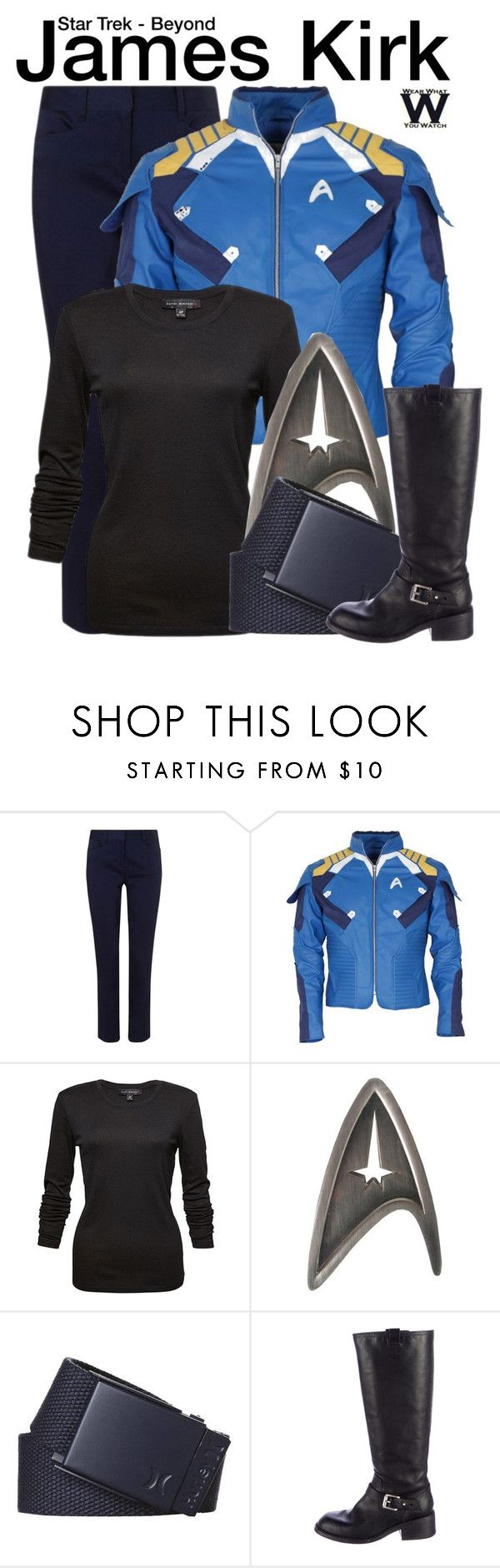 """""""Star Trek Beyond"""" by wearwhatyouwatch ❤ liked on Polyvore featuring EAST, Hurley, rag & bone, wearwhatyouwatch and film"""