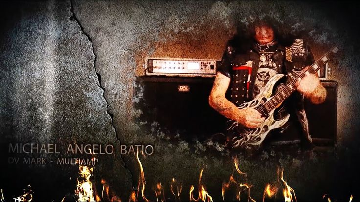 Michael Angelo Batio - 2X Again w/DV Mark Multiamp
