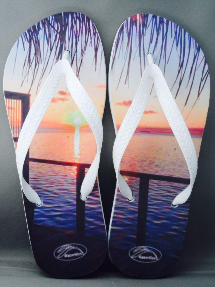 Sunset flip-flip