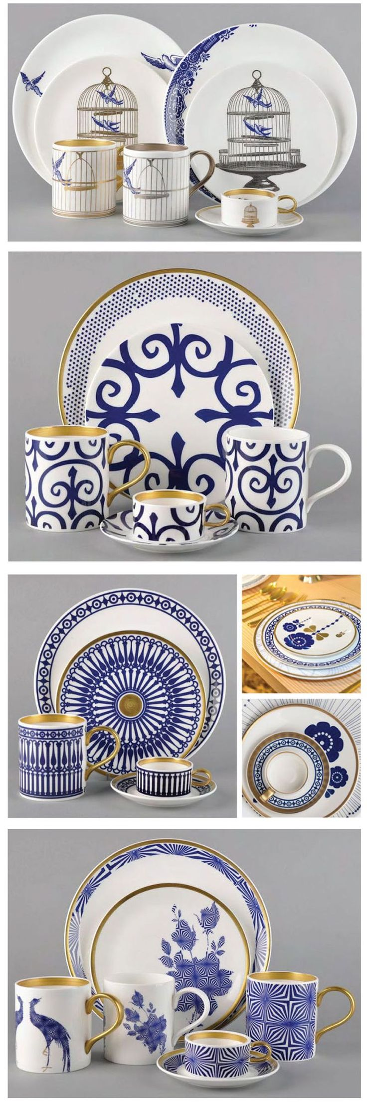 Flux Stoke-on-Trent: Blue and White china, a classic tradition, done in a modern way.