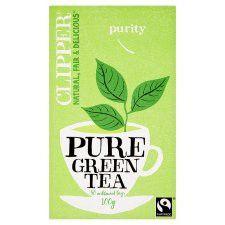 Clipper Fair Trade Pure Green Tea 50'S 100g