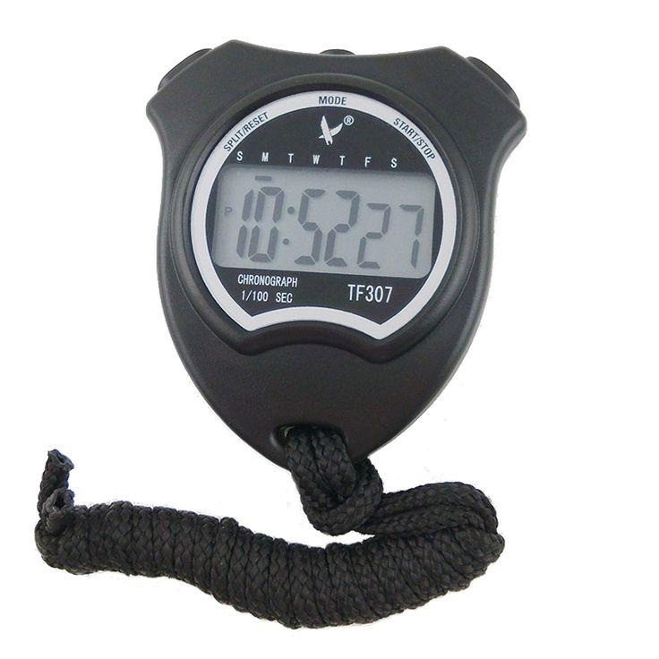 Contadordetiempodelacuenta descendiente del cronómetro de los deportes de Handheld Digital LCD con la alarma