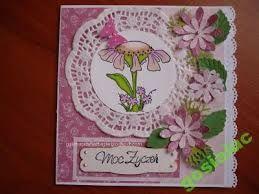 Znalezione obrazy dla zapytania kartki urodzinowe ręcznie robione