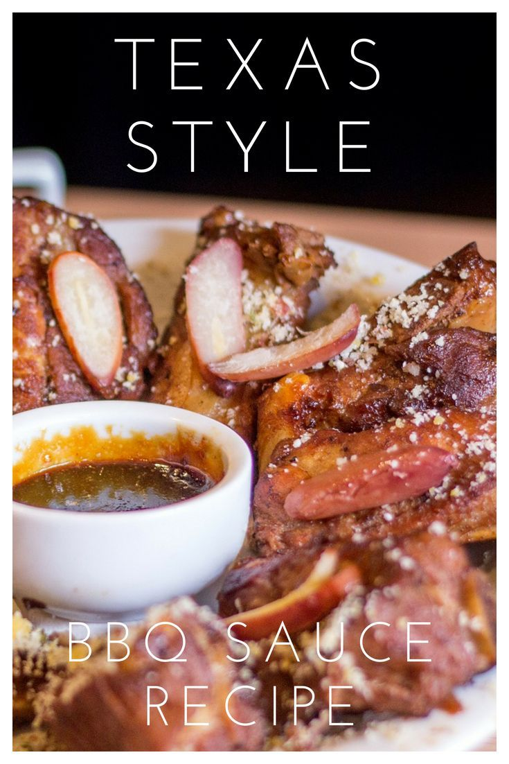 Basic Barbecue Sauce Recipe With Images Recipes Bbq Recipes