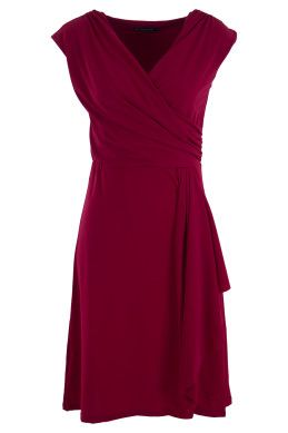 Nest Picks Rose V Neck Dress - Womens Knee Length Dresses - Birdsnest Online Clothing Store