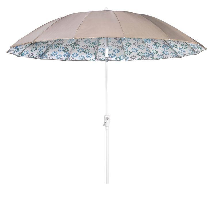 lief! collectie parasol Babs Leuk voor de kids bij de picknicktafel!