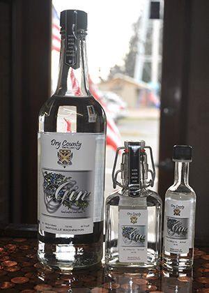 Dry County Gin. Washington