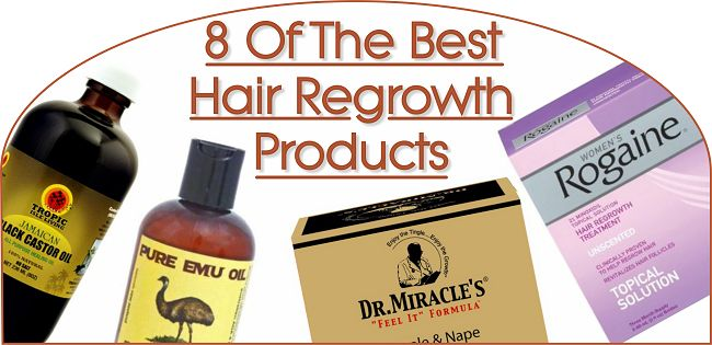 8 Of The Best Hair Regrowth Products  Read the article here - http://www.blackhairinformation.com/products-2/8-of-the-best-hair-regrowth-products/
