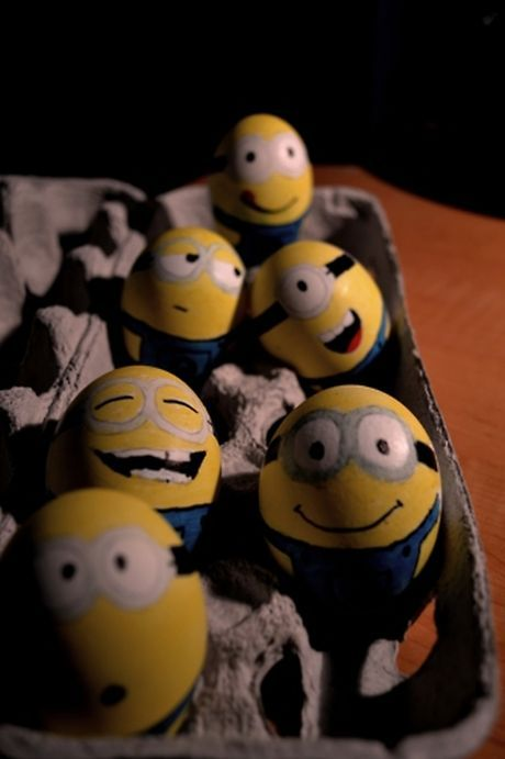 Minions eggs!. Adoro os minions! Adoro o malvado! Adoro a Agnes!