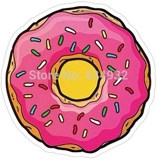 Min. order составляет $10 (заказ смешивания) Пончики водонепроницаемый чемодан наклейки багажа наклейки tide бренда наклейки [один]
