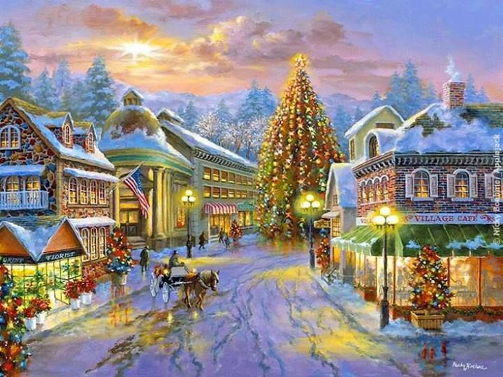 158 Best Images About Christmas Illustrations Drawings