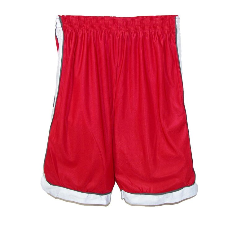These silky soft shorts will keep you comfortable everywhere you wear them.  The longer length is ideal for basketball and other activities but they are comfortable enough for a good nights sleep or lounging around the house.  The side seam pockets are great for a wallet, keys or other small items.