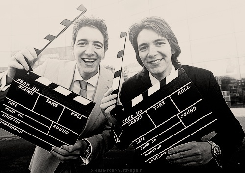 Oliver and James Phelps <3