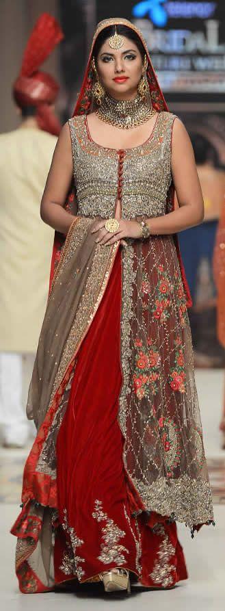 Aisha Imran Telenor -Bridal Couture Week 2014