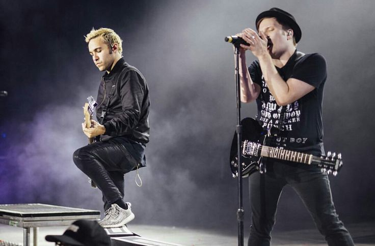 Pete Wentz & Patrick Stump // Fall Out Boy