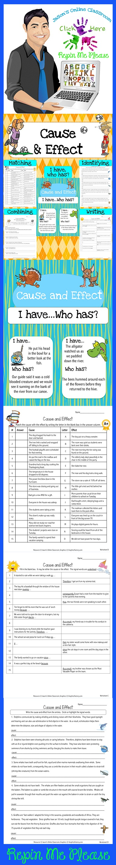 25 Best Ideas About Cause And Effect Worksheets On