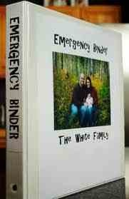 Fabulous Emergency Binder! We have one of these and I love it complete with every possible thing you might need to grab in an emergency: The Doors, Moments Notice, Safe Places, Good Ideas, Extra Money, Families Emergency Binder, Great Ideas, Emergency Preparation, Marriage Certificates
