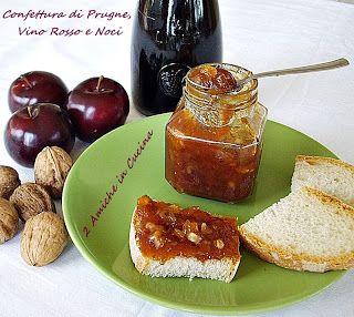 Confettura di Prugne e Noci al Vino Rosso