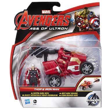 Marvel Avengers 2-pack Thor en Iron Man actiefiguren  Met deze Marvel Avengers 2-pack Thor & Iron Man kun je tegen iedere vijand vechten.  EUR 15.99  Meer informatie