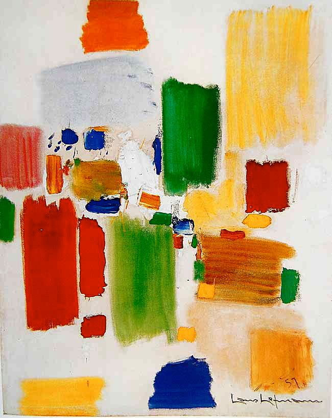 Sparks 1957 Art Painting Abstract