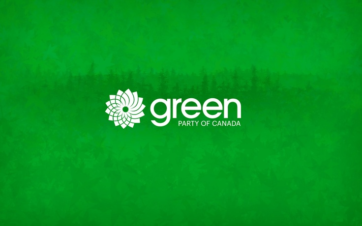 My desktop wallpaper for Green Party of Canada :D