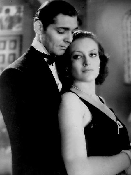 Clark Gable & Joan Crawford from Dance, Fools, Dance (1931)