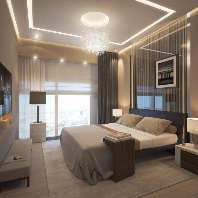 17 Majestic Bedroom Lighting Designs That Everyone Should See Bedroom Lighting Design Luxurious Bedrooms Bedroom Interior Bedroom lighting ideas ikea