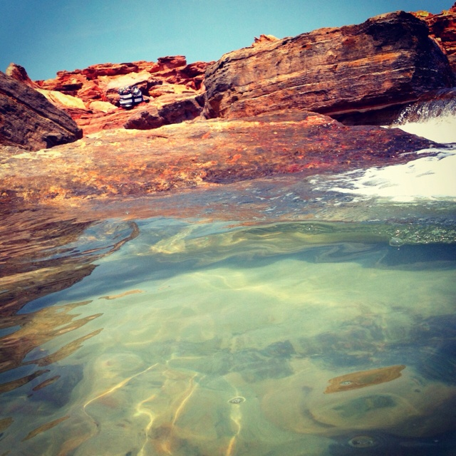 Tidal pools, Guantheume point, Broome
