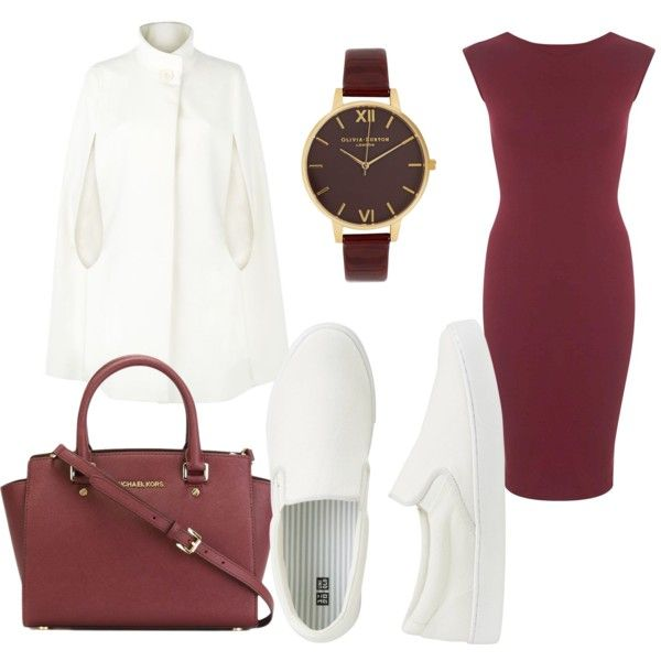 Elegant by sch-csilla on Polyvore featuring polyvore, fashion, style, Miss Selfridge, Harrods, Uniqlo, MICHAEL Michael Kors, Olivia Burton, white and Elegant