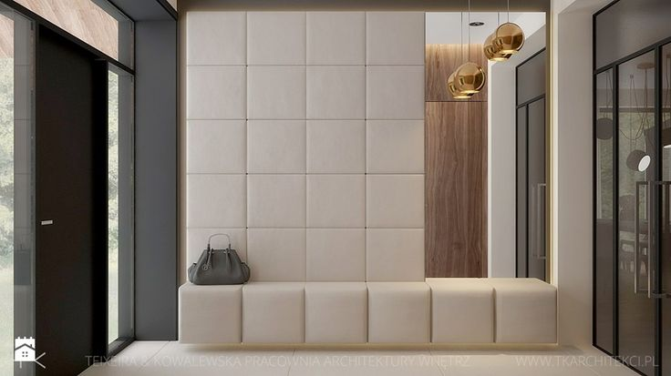 dom jednorodzinny - Hol / przedpokój, styl nowoczesny - zdjęcie od TK Architekci