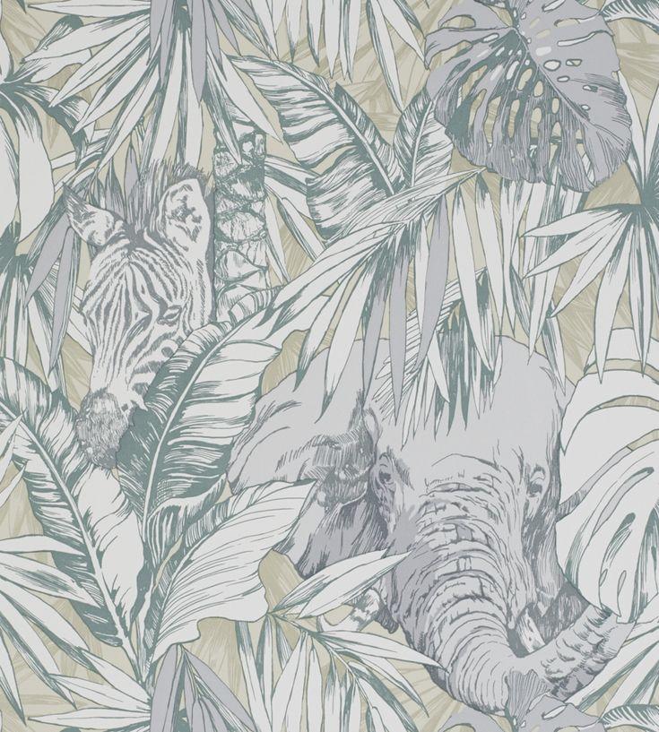 Samburu Wallpaper by Prestigious Textiles | Jane Clayton