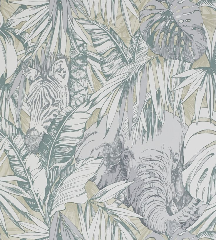 Samburu Wallpaper by Prestigious Textiles | Jane Clayton