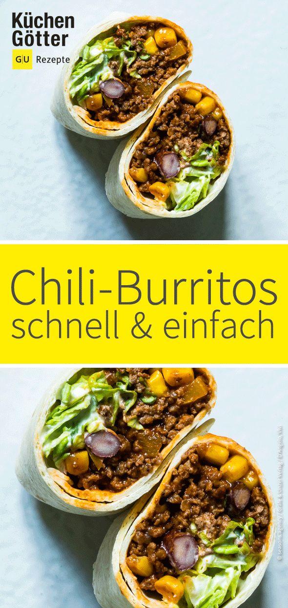 Burritos con carne picada de chile   – Rezepte mit Hackfleisch