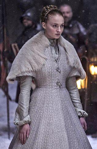 Sansas Wedding Dress From Season