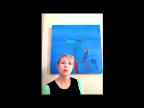 Meet Myra - the artist in person... A 60 second get to know you...
