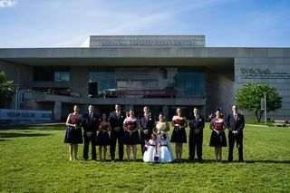 Wedding Party at the Constitution Center